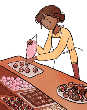 Lune Chocolat is happy to make custom treats for buyers who want to try a truly different flavor.