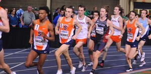 Knight captured his second win of the weekend, taking first in the 3,000 meters with a time of 8:05.05. Fellow All-American Crittenden won the 60 meter hurdles for the second straight year with a time of 7.65 seconds.