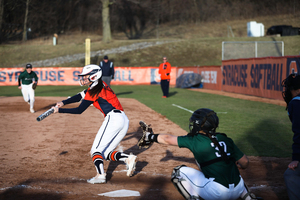 Sammy Fernandez made an error the cost SU a run, but came back and won the game with a walk-off single in the bottom of the seventh.